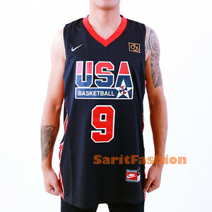 new concept cfd17 293cc france basketball jersey michael jordan 1992 nike usa ...