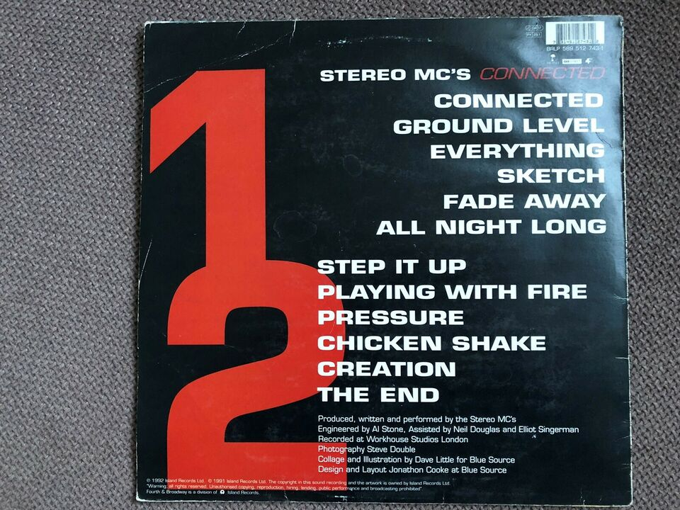 LP, Stereo MC's, Connected