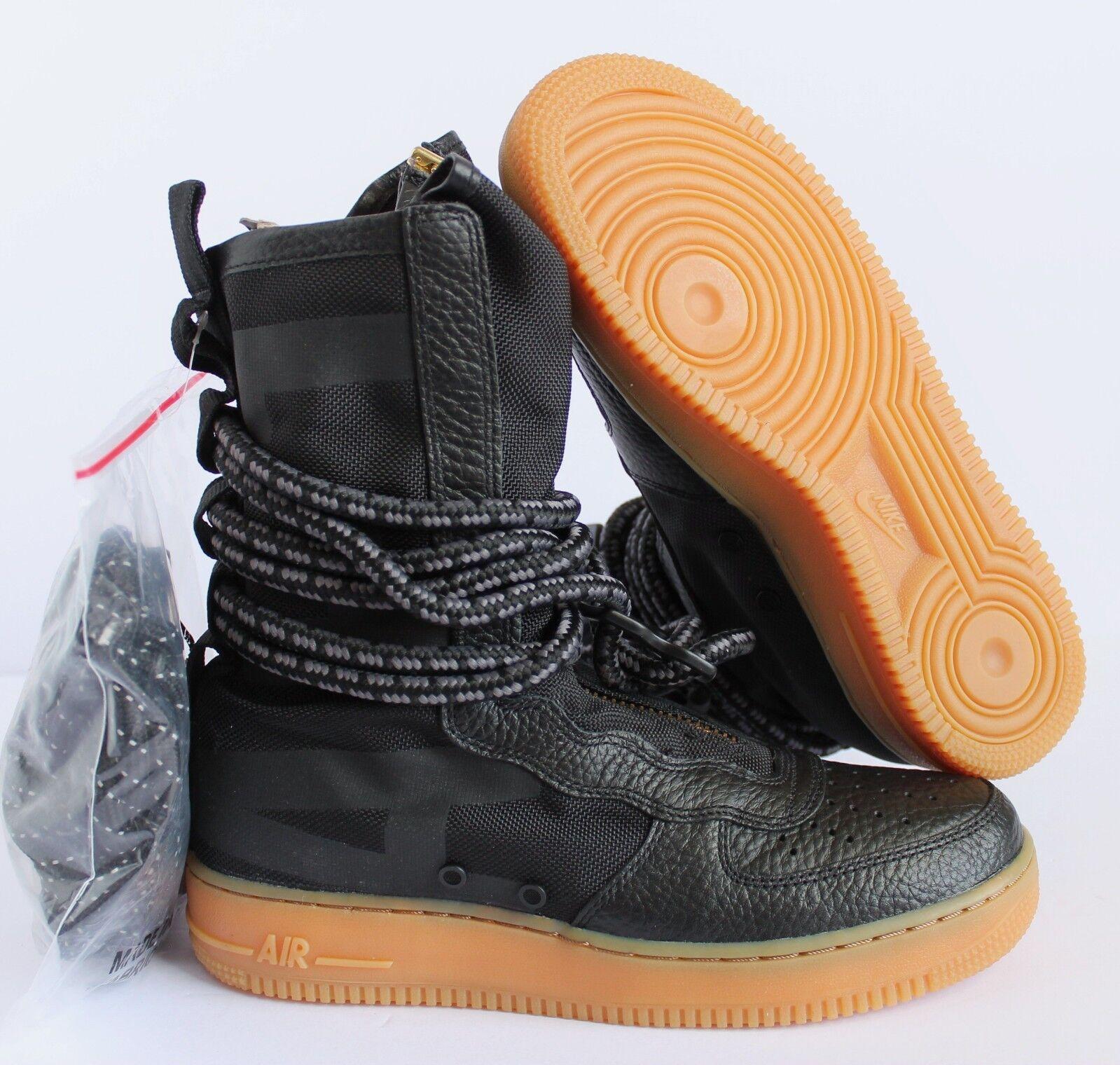 Nike air force 1 sf af1 af1 sf hi spezialgebiet schwarz-gum sz 8,5 [aa1128-001] f675c4