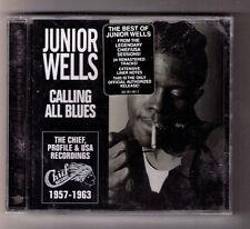 Calling All Blues Junior Wells sealed CD 24tx Chicago harmonica harp Earl Hooker