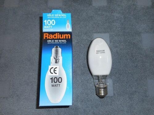 Radium Metallhalogen Powerstar HRI-E 100W NDL coated E27  HQI-E 100W//NDL 1 St