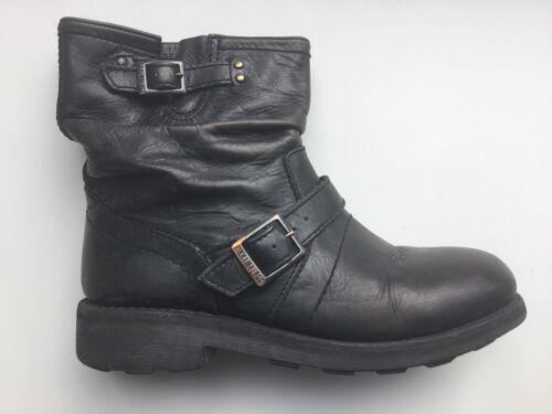 Gr Stiefel Boots Gut Vintage Low Sehr Getragen Black 39 Bikkembergs Kaum f1AXP