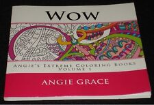 Item 1 Angie Grace Wow Angies Extreme Coloring Books Volume