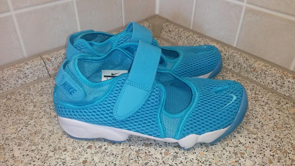 Nike Air Rift Breathe 848386-400 femme nouveau Chaussures Taille 36,5-