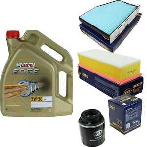 Inspektionskit-filtre-Castrol-5-L-Huile-5w30-Pour-Vw-Touran-1t1-1t2-1-4-TSI