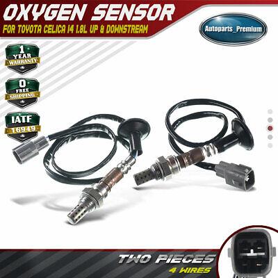 2 O2 Oxygen Sensor for Toyota Celica 2000 2001 2002 03 1.8L Upstream /&Downstream