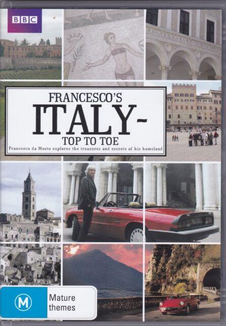 Francesco's Italy - Top To Toe - DVD (Region 4 PAL)
