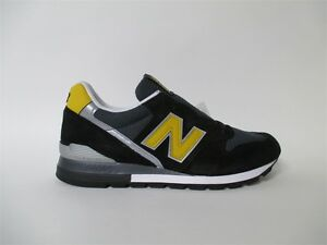 newest a4d6c 2676a Image is loading New-Balance-996-Made-in-USA-Black-Yellow-