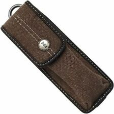 Opinel Brown Cotton Outdoor Canvas Knife Sheath Fits Traditional No 9,10 001545