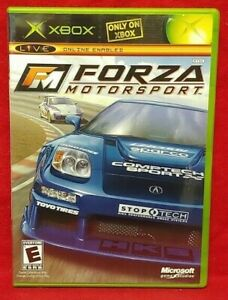 Forza Motorsport 1  -  Original Microsoft Xbox Game Complete 1 Owner Mint Disc