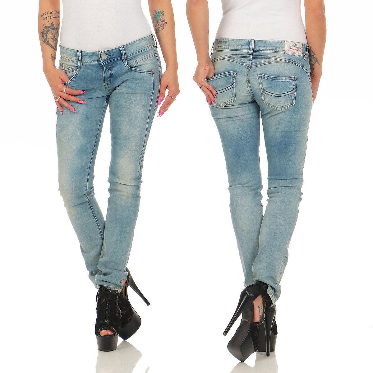 HERRLICHER - GILA Slim Powerstretch - D9060 042 - Damen Jeans Hose - NEU