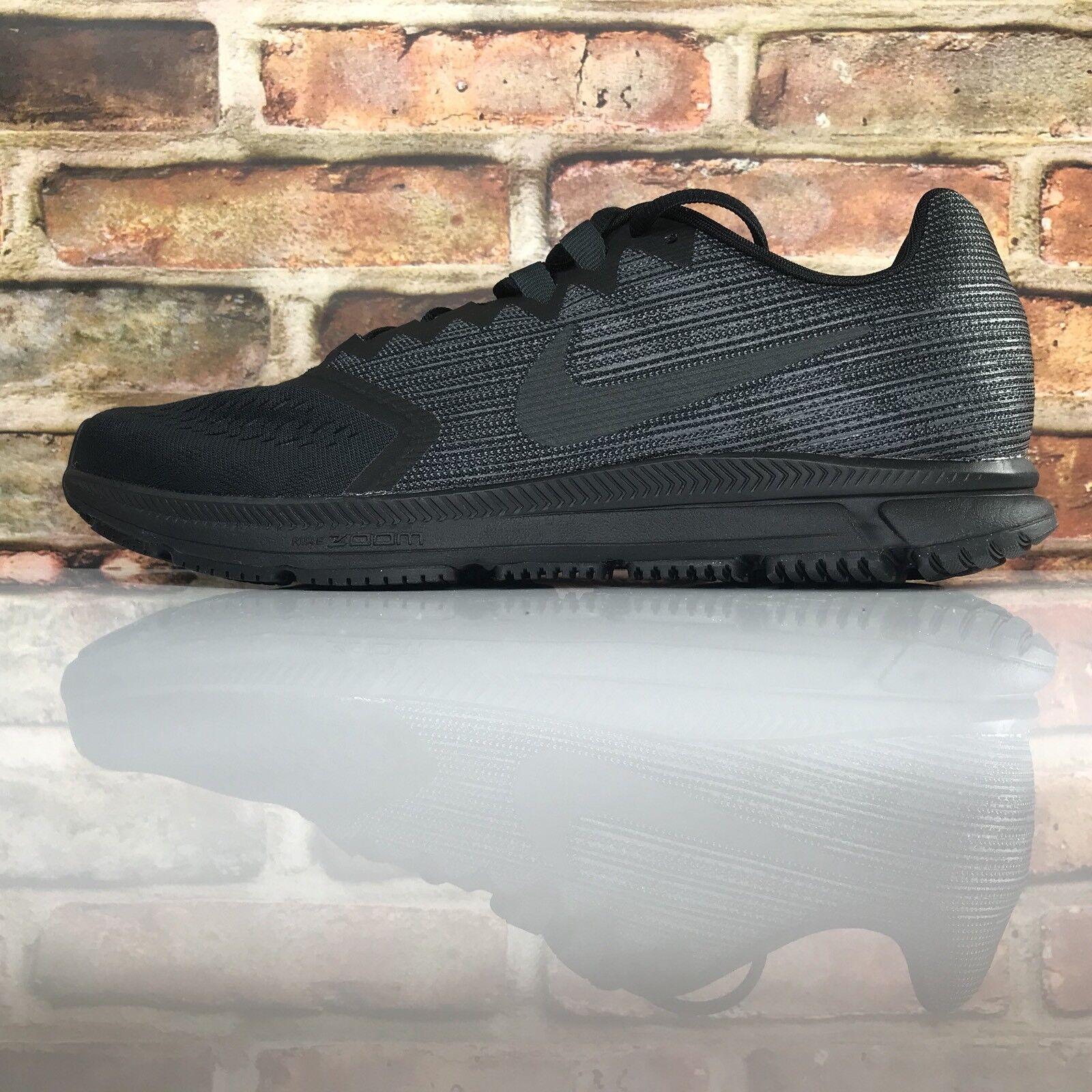 Nike Zoom Span 2 Mens Size 11 Running shoes Training Black Dark Grey 908990 011