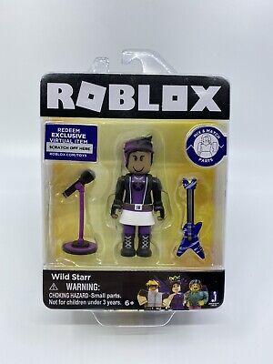 Haggie125 Roblox Mini Figure W Virtual Game Code Series 2 New Ebay - Roblox Wild Starr W Virtual Code New 681326198291 Ebay