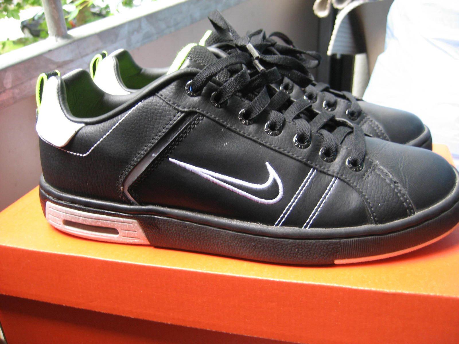 Nike Air Max  Sneaker Turnschuhe Herren Schuhe Schwarz/Dunkelgrau/Weiss Gr.42
