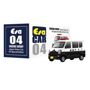 Details about ERA Car 1:64 Scale SUZUKI EVERY Japan Japanese Police Van 1st  Special Edition