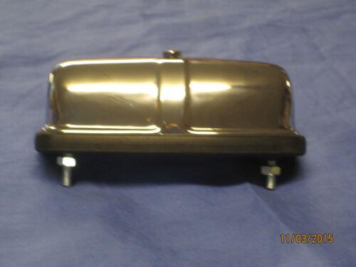 LIGHT 127916 rubber bumper   v2b NEW  MG MGB MIDGET CHROME NUMBER PLATE LAMP