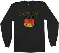 T-Shirt Fußball Fan-Shirt Deutschland Germany Ringspun XXL