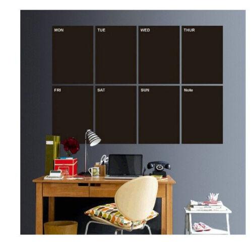 5er Set Tafelfolie DIN A4 selbstklebend Wandsticker Basteln Aufkleber Tafel