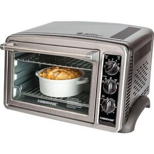 Convection Countertop Oven Stainless Steel : Farberware Convection Countertop Oven, Stainless Steel, 1500 Watt ...