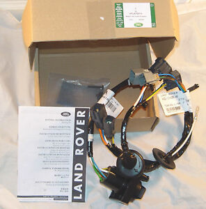 Land Rover Brand LR4Discovery 4 20142016 Trailer Wiring Kit Tow
