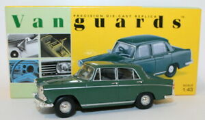 Vanguards-1-43-Scale-Diecast-VA54000-Morris-Oxford-Green
