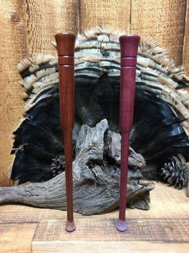 Bloodwood /& Purpleheart  Flared-Tip Turkey Call Strikers