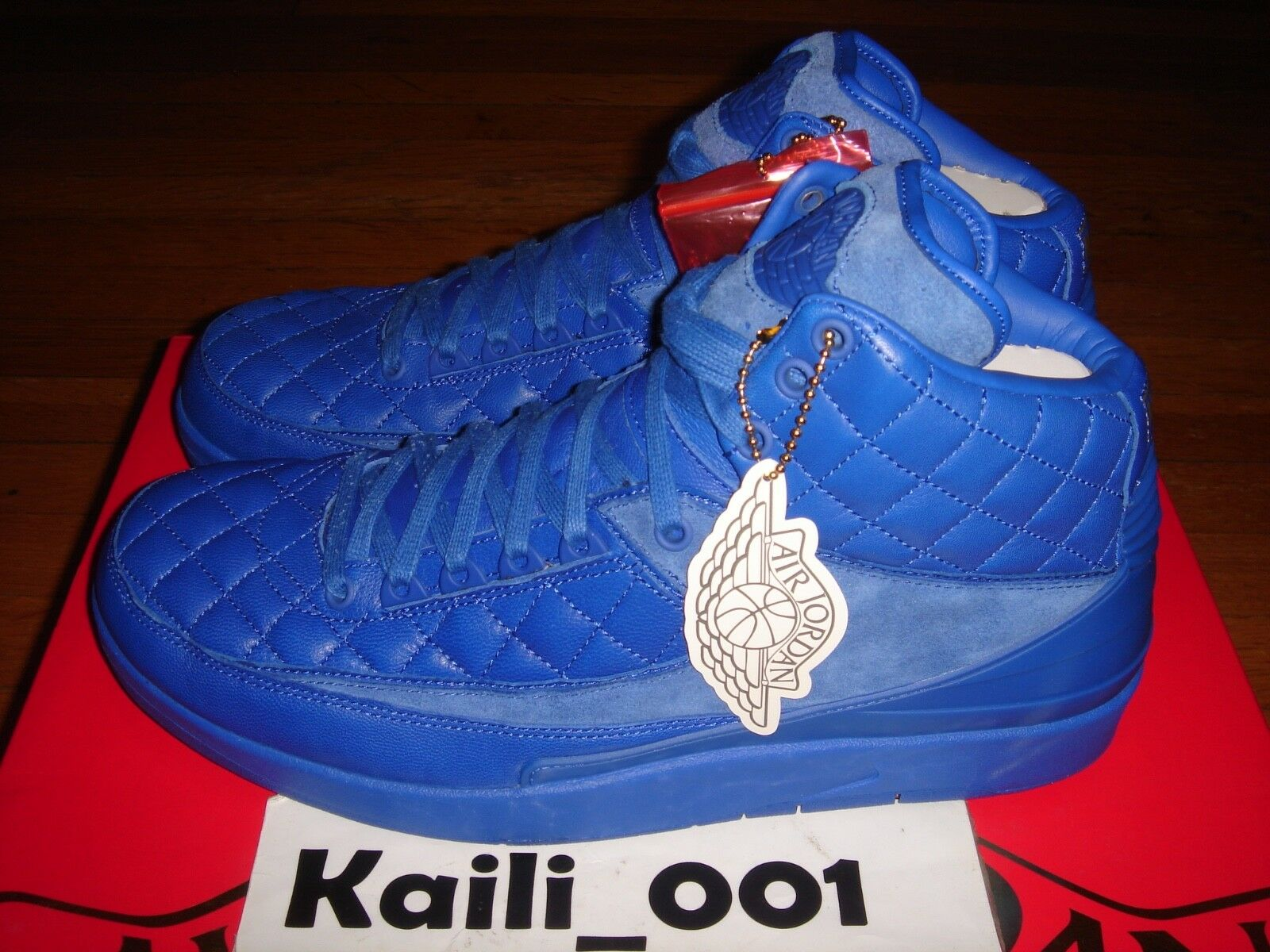 Nike Air Jordan 2 Retro Don C Size 12 717170-405 bluee BIN DB B
