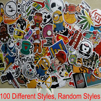 100x Aufkleber Doodle Retro Sticker Set Sponsoren Auto Stickerbomb Laptop Handy