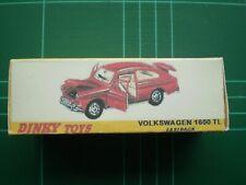 REPRO BOX DINKY n 163 VW 1600 TL FASTBACK