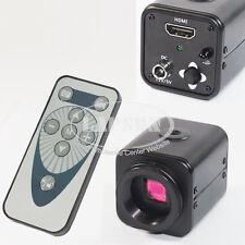 Wireless Control 1080P HDMI HD Industrial Lab C-mount 2.0MP Microscope Camera AU