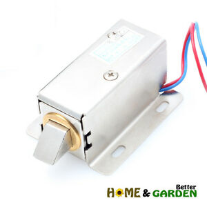 Image Is Loading DC12V Small Electro Electric Magnetic Mag Lock For