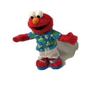 Limbo Elmo Singing Dancing Doll Mattel Fisher Price 2002 13 inches Tall - TESTED