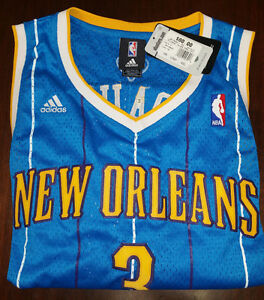 huge discount d8ccc 91cfd Details about Chris Paul Adidas New Orleans Hornets Swingman Jersey NEW!