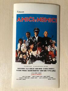 Film-fanartikel Moore Amici E Nemici Flucht Nach Athena Grade Produkte Nach QualitäT Systematisch Poster Plakat Sticker 1979 T Savalas R