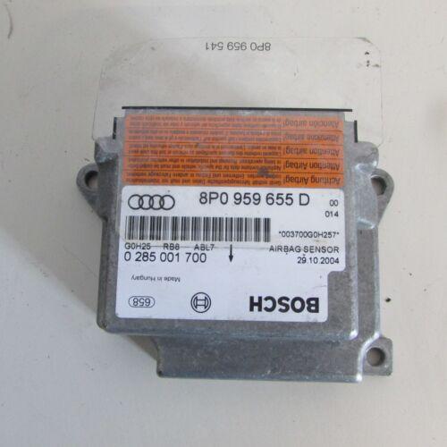 0836 22-2-C-1 Centralina Airbag 0285001700 8P0959655D Audi A3 Mk2 8P 2003-2008