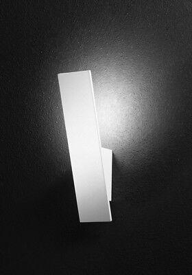 Plafoniera Rettangolare Metallo Verniciato Bianco Luce LED Perenz 6392 BLC