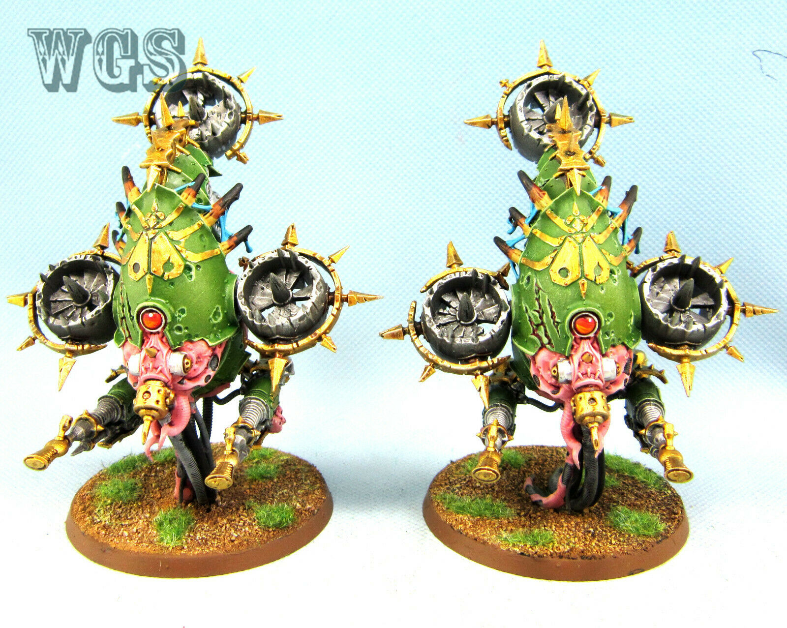 Warhammer 40K WGS painted Death  Guard Foetid Bloat-drone CSM063  vendendo bene in tutto il mondo
