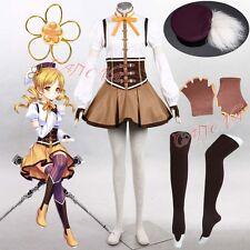 Hot Free Shipping Cosplay Costume Puella Magi Madoka Magica Momoe Nagisa Retail