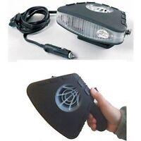 ELECTRIC CAR DASHBOARD HEATER HEATING/COOLING AID & FAN CERAMIC FITS UK CAR PLUG