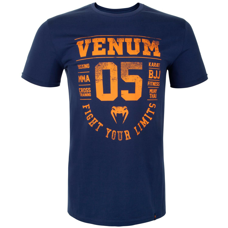 Venum Herren Herren Herren T-Shirt Origins Navy S-2XL MMA Muay Thai Boxen Cross Training BJJ 1c7b30