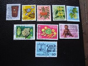 Switzerland-Stamp-Yvert-and-Tellier-N-994-A-1002-Obl-A2-I