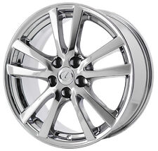 lexus is250 is350 chrome 18x8 original wheel 74189 rim genuine oem White Lifted Ford Dually 18 lexus is is250 is350 pvd chrome wheel rim factory oem 2006 2007 2008 74189