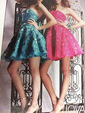 Fuchsia Short Prom dress by Jovani size 6.