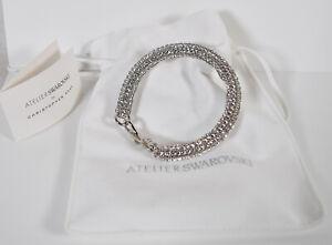 Atelier Swarovski By Christopher Kane Bolster Bracelet Crystal One ...