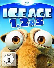 ICE AGE 1-3 (3 Blu-ray Discs) NEU+OVP