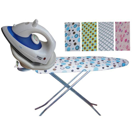 1800W CORDLESS STEAM IRON NEW FOLDING IRONING BOARD STAND FOLDABLE TABLE