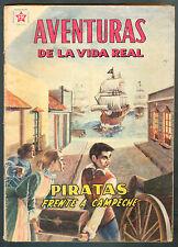 AVENTURAS DE LA VIDA REAL # 50 SPANISH MEXICAN COMIC NOVARO