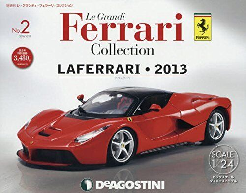Deagostini Le Grandi Ferrari Collection No.2 No.2 No.2 1 24 LAFERRARI 2013 e9bee5