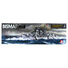 Tamiya German Battleship Bismarck (Scale 1:350) 78013 NEW