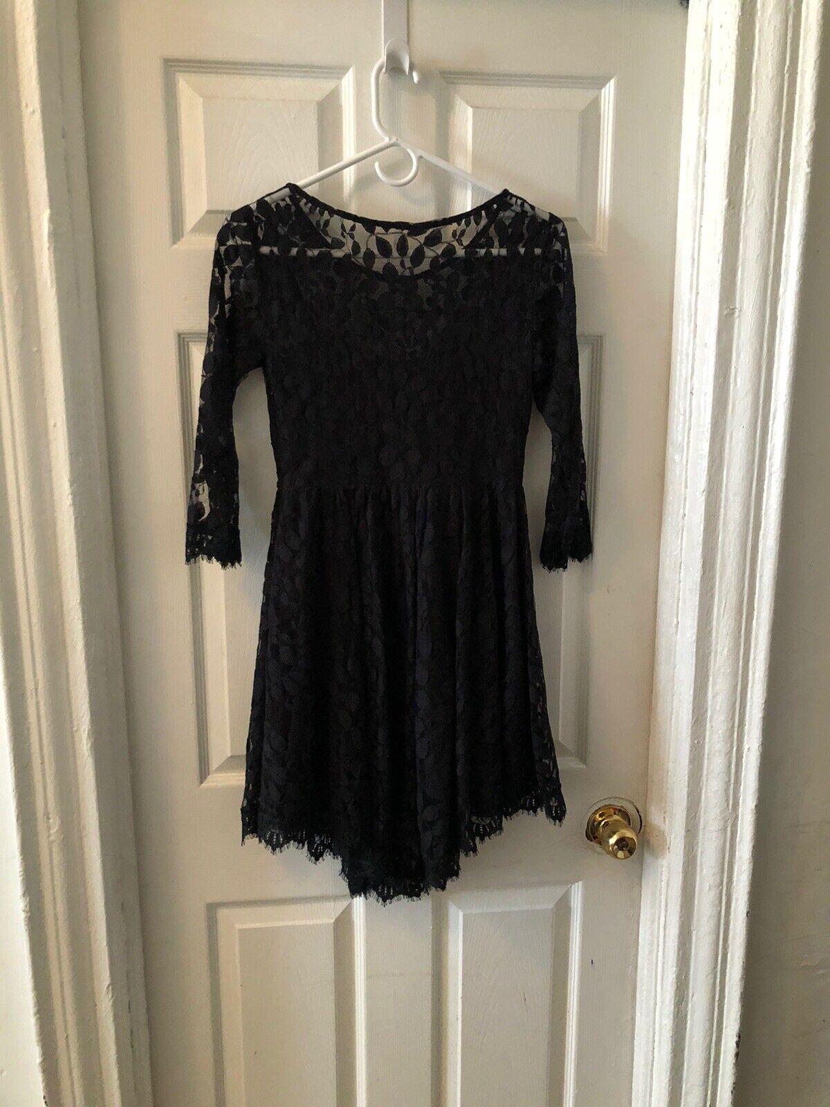 Free People Black Dress - image 5